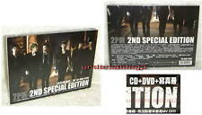 2PM Don't Stop Can't 1:59PM Taiwan 2nd Special Edition CD+DVD