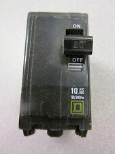 Square D Hacr Type Qob220 Amp 2 Pole Circuit Breaker *Lot Of 3