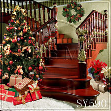 XMAS 8x8 FT CP (COMPUTER PRINTED) PHOTO SCENIC BACKGROUND BACKDROP sy590