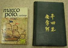 Lot de 2 livres sur Marco Polo