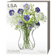 LSA International Clear Posy Flower Vase - G584-18-301