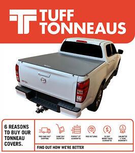 Tuff 'No Drill' Clip On 2.0 Tonneau Cover Fits Mazda BT-50 Dual Cab-August 2020+