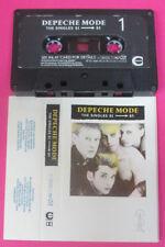 MC DEPECHE MODE The singles 81>85 1985 uk MUTE no cd lp vhs dvd
