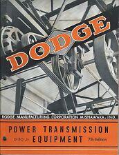 MRO Catalog - Dodge - Power Transmission Equipment - c1941 - Brochure (MR170)