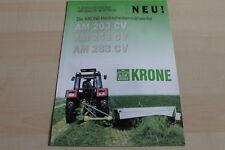 128766) Krone Scheibenmähwerk AM 203 243 283 CV Prospekt 200?