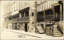 Chester UK Watergate St. c1910 Real Photo Postcard FENNAH'S STORES