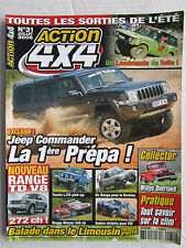 ACTION 4X4  N°31 /AUDI ALLROAD QUATTRO/ VOLVO XC90 3.2 L/ WILLYS OVERLAND 4WD