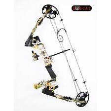 Bobcat - Kit arc à poulies CAMO pour la chasse à l'arc - DROITIER - 20 à 60 lbs