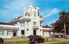 JOHOR BAHRU, MALAYSIA ~ RAILROAD STATION, CARS ~ c. 1950's