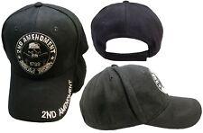 2nd Amendment American's Original Homeland Security 1789 Cotton Black Hat Cap