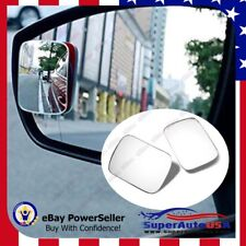 Tint Blind Spot Mirror Wide Angle Rear View Car Side Mirror with Adhesive