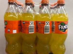 Fanta 12 x 0,5 liter Pet Flaschen (Preis inkl. 3 € Pfand)