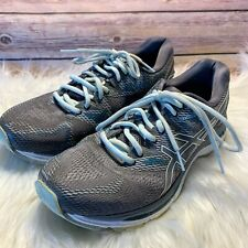 Asics Gel Nimbus 20 Women's Gray Green  Running Athletic Shoes Sz 9 EU 40.5