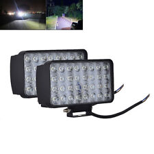 2x 96W LED Work Light Spot Beam Offroad Tractor Jeep Truck Boat 4WD Lamp 12/24V