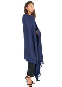 Merino Wool Shawl Oversize Scarf Wrap Pashmina Fairtrade Large Luxury