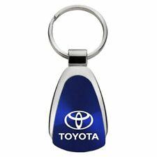 Toyota Key Ring Blue Teardrop Keychain