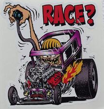 HOT ROD RACE DECAL STICKER.    Z008