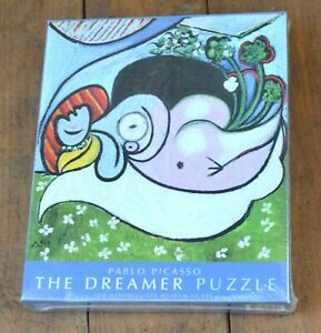 NEW SEALED PICASSO THE DREAMER 500pc JIGSA PUZZLE METROPOLITAN MUSEUM OF ART