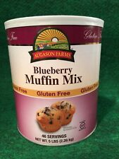 Augason Farms Blueberry Muffin Mix Lg. #10 Can 5 lbs Gluten Free Survival Food