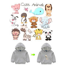 Cute Animals Iron on Patches Washable Heat Transfer Stickers T-shirt AppliquATA