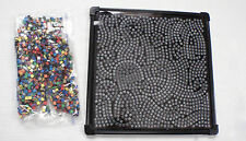 Magnetic Mosaics Kids Art Magnetic Play Board Small Colored Square Magnets