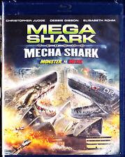 Mega Shark Vs Mecha Shark [Blu-ray] New
