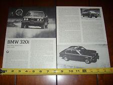 1977 BMW 320i - ORIGINAL ARTICLE