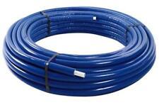 Rotolo 50 metri tubo multistrato rivestito coibentato guaina blu diametro 16x2