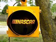 "New Traffic Light Signal With Custom 12"" LED NASCAR Lens"