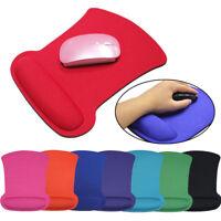 21 * 25cm Gaming Mauspad Genau MousePad mit Handgelenkauflage Anti Slip Mice Mat