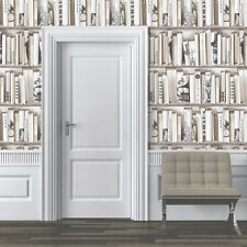 MURIVA ENCYCLOPEDIA BOOKS BOOKCASE LIBRARY FEATURE DESIGNER WALLPAPER 572217
