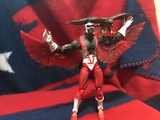 "2006 ToyBiz Marvel Legends FALCON 6"" Figure & REDWING Classic Costume Mojo BAF)"
