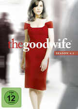 3 DVDs *  THE GOOD WIFE - STAFFEL / SEASON 4.1 ~ DIGI # NEU OVP =