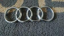 Audi front emblem / badge chrome genuine used part