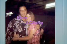 ELVIS PRESLEY WITH J. CHERRY L.A. 7/30/70 ORIG VINTAGE OLD KODAK PHOTO CANDID