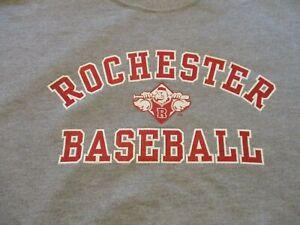 ROCHESTER RED WINGS BASEBALL SWEATSHIRT- XL RARE WASHINGTON NATIONALS AAA TEAM