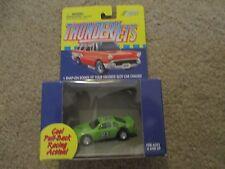 Johnny Lightning Thunderjets Thunder Jet Green #84 90's Stock Car Pull back MISB