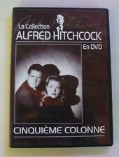 DVD CINQUIEME COLONNE - Priscilla LANE / Robert CUMMINGS - A. HITCHCOCK