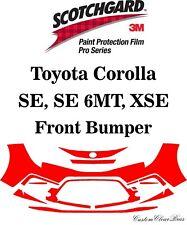 3M Scotchgard Paint Protection Film Pro Series 2020 2021 Toyota Corolla SE XSE