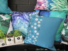 Gorgeous Nettex ICON Teal Embroidered Cushion Cover CLEARANCE SALE