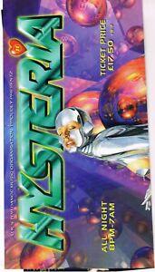 HYSTERIA Rave Flyer Flyers 13/7/96 A3 Poster The Sanctuary Milton Keynes Promise
