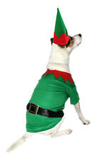 Armitage Christmas Elf Costume for Dogs Festive Novelty Xmas Pets Outfit