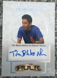 Tim Blake Nelson as Samuel Sterns Auto /99 2021 Upper Deck Marvel Black Diamond