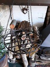 Rustic Country Saucepan Hanging Rack ,new