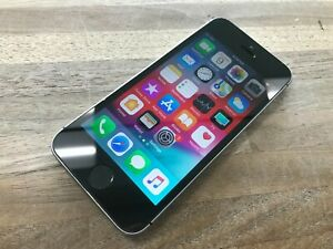 L@@K!! WORKS GREAT!! Apple iPhone SE - 32GB - Space Gray (Sprint) Clean ESN