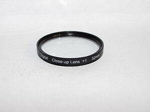 Used Digital Clos - Up Lens +1 52mm lens Filter Made in Japan for Macro No 1