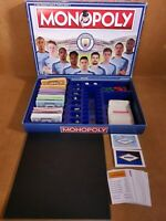 Monopoly Manchester City Edition 2016 Hasbro Gaming Complete just Missing Manual