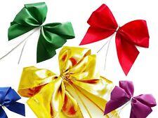 3er Set fertige Geschenkschleife Mareike mit Ziergummiband Fertigschleife