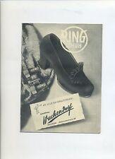 Reklame Prospekt 30er Schuhe Bremen Schuhhaus Wachendorf Ring Schuh Werbung