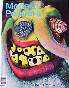 Modern Painters 2000 Vol 13, 3, Looking at America, Xenia Hausner, Damian Loeb